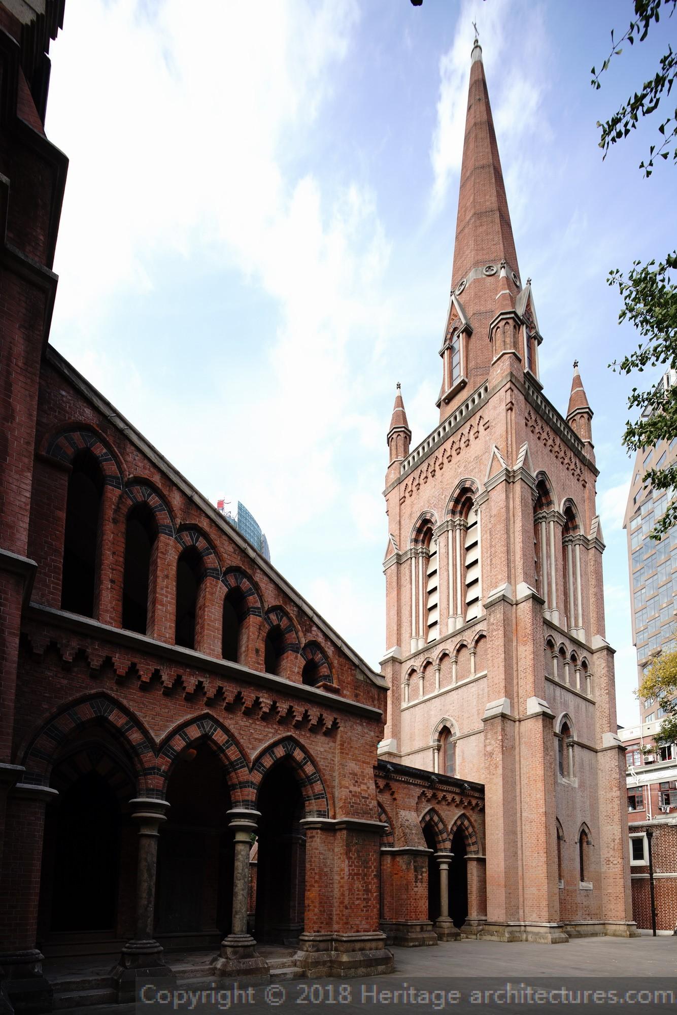 上海圣三一教堂_1A025-圣三一教堂 - Heritage architectures.com